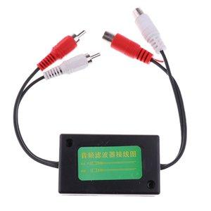2 canales de audio RCA Filtro de ruido del lazo de tierra Aislador para el hogar del coche estéreo