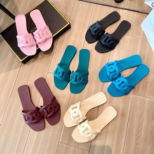 ERRFC New Concise Womens Casual Slippers Pink Fashion Foward Ladies Sexy Slides Woman Sand Beach Girls Jelly Shoes