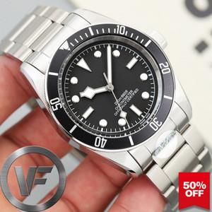 VFactory Sapphire New Herrenuhr Black Bay Automatik-Uhrwerk Mode Herren Mechanische Uhren Sport Herren Armbanduhren