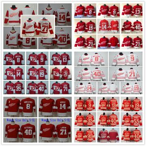 Detroit Red Wings Formaları Hokeyi 13 Pavel Datsyuk 40 Henrik 8 Justin Abdelkader 19 Steve Yzerman 9 Gordie Howe 14 Gustav Nyquist Formaları