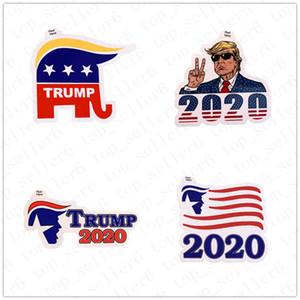Donald Trump Sticker 2020 Le président américain américain Élection Supporters Trump Paster Nouvelles Trump autocollants pour les enfants cadeau Toy AccessD52217