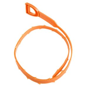 52cm Schlange Abfluss Weasel Haar Clog-Remover-Werkzeug Starter Kit für Rohrreinigungshaushaltsreinigung Werkzeuge mit Opppackage CCA10086 600pcs