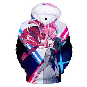 Darling In The Franxx Hoodie sudadera Anime ropa