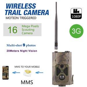 Oyun Trail Deer Kameralar 16MP 3G MMS GPRS GSM Camo Yaban Hayatı Avcılık Kam 65ft Gece Görüş PIR Hareket Aktif