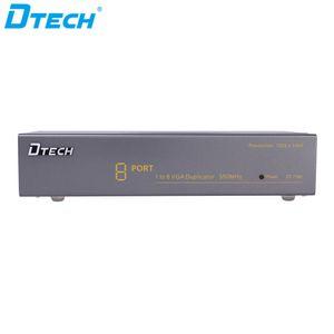 무료 배송 CCTV 모니터 디스플레이 60Hz의 VGA 350MHz의 1 * 8 1 입력 8 출력 HD의 높은 해상도 1080P VGA 스플리터