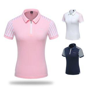 2019 New Golf Women tshirt Short Sleeve T Shirt Sport Clothing Korea Tops Polo Shirt Summer Sportswear High Quality