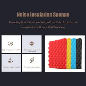 Studio di registrazione insonorizzata cuneo Schiuma Video Sound Room Noise isolamento spugna parete fonoassorbente