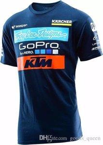 الرجال عادية KTM النارية T قميص جيرسي قصيرة الأكمام طيران جيرسي موتوكروس DH الإنحدار MX MTB تنفس للطرق الوعرة XXL 005