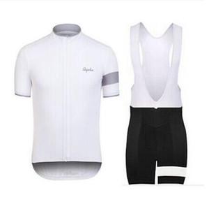 Rapha Shorts Maillots De Cyclisme Ensembles 2019 Cool Bike Suit Bike Jersey Vélo Respirant À Manches Courtes Chemise Bib Shorts Hommes Vêtements De Cyclisme