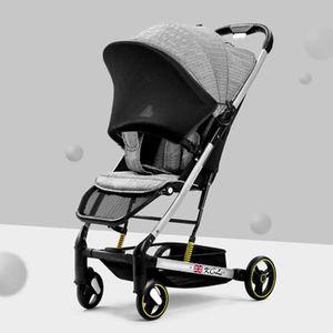 Baby Stroller Lightweight Simple Folding Sit Back Reclining Child Stroller Portable Umbrella Car Newborn