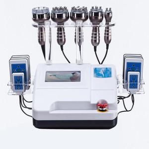 vendita calda 6 in 1 40 k vuoto lipolaser cavitazione perdita di peso corporeo rf sollevamento radiofrequenza fronte della macchina bellezza perdita di peso