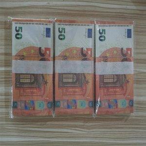 Новый 10 20 50 100 евро фальшивых денег расквартировать деньги фильма лжа Заготовки евро 20 игрой Сбор и подарки M15
