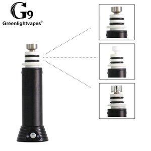 Authentic G9 Mini Henail Kit H E Nail 1500mah Vape Mod Battery With 3 Bowl Wax Atomizer SOC Enail