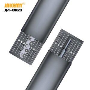 Alüminyum Alaşım Kol Y200321 iPhone Laptop için 1 Fonksiyonlu Hassas Manyetik Tornavida Seti Onarım Tool Kit JAKEMY 48
