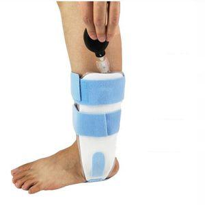 FIRECLUB Inflatable snorkel airbag protector splint ankle sprain fixed brace ankle varus valgus orthosis