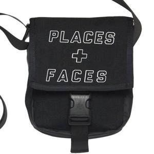 PLACES + FACES الحياة ألواح التزحلق حقيبة جذاب لطيف عارضة الرجال في الكتف البسيطة المحمول حزم الهاتف حقائب حقيبة التخزين P + F 3M عاكس