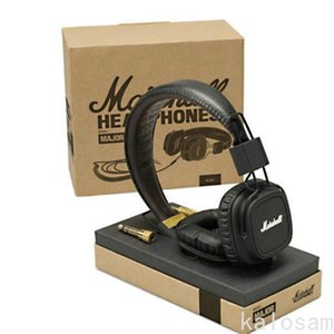 Marshall Major Headphones with Mic Deep Bass DJ Hi-Fi Headphone Gaming Headset Professional DJ Monitor Headphone