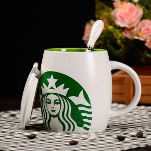 starbucks copo esmalte de cristal Cup Flower Tea Glass-Alto grau de vidro fosco Flower Cup com casamento Pega Presente perfeito para o amante