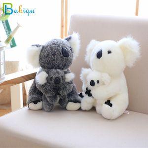 2020 Kawaii Koala en peluche Jouets bébé Australian Koala Ours en peluche douce poupée enfants Beau cadeau pour les amis Bébés filles Jouets parent-enfant