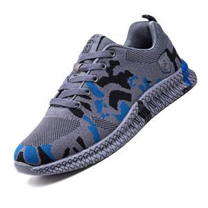 AMSHCA дышащая сетка против Hit Steel Head Мужской обуви безопасности работы проколы Латы нерушимых Загрузочной обуви Plus 36-47