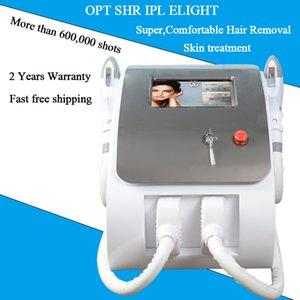 cabelo SHR IPL remoção 2000W dois handpiece UK importados lâmpada IPL SHR OPT máquina de depilação para venda