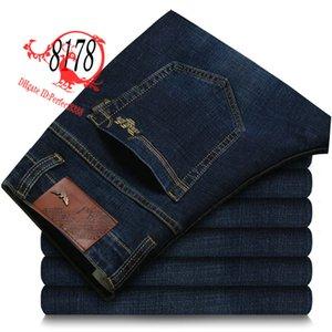 8178 AJ-JEANS 2020 Calças Primavera Verão calça calças masculinas jeans stretch calças de algodão calças lavadas business casual reta