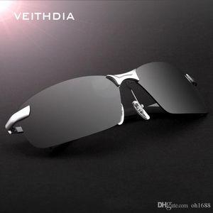 VEITHDIA 2020 New Brand 3043 Polarized Sunglasses Men Aluminum Alloy Frame Sunglass Driving Glasses Goggles Eyeglasses and accessories