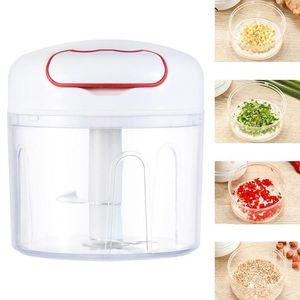 Mini moedor de carne Cozinha Food Chopper Mão Pull Mincer Mixer Blender Garlic Press Casa Cozinha Fruit Pimenta cebola Nuts Shredders