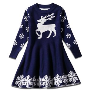 2020 niños Luxury Girls Ropa Europea y Falda Mujeres Traje Christmas American Designer Princess Girls Dress Vestido de chándal de bebé Kevlk