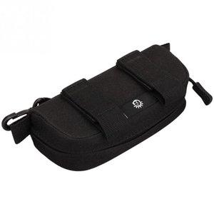 Durable Waterproof Lightweight Waist Belt Pack Multifunctional Zipper Glasses Bag Nylon Glasses Bag for Men Women Children