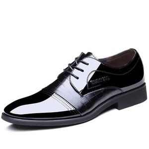Crystal2019 Special Adams Jun Four Seasons Fund Classic Pearlite Layer Hombre Zapatos de cuero Sexy Business Affairs Correct Dress Hombre Zapato