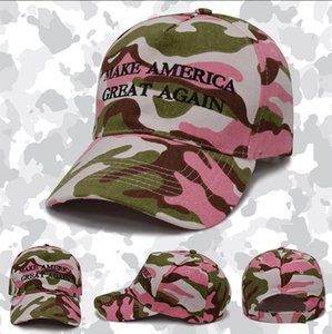 Hot design Camouflage baseball cap wholesale camouflage wholesale Trump Us presidential election hat free ship