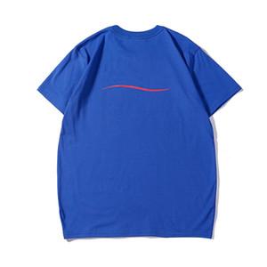 Homens Atacado-Luxury Designer Camisetas Designer Famous Brand Homens Mulheres camisa de algodão Carta Casual Imprimir camiseta manga curta S-2XL