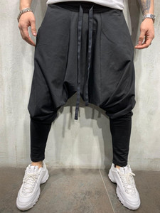 Europe and the United States autumn winter male and female reflective trousers BF wind jogging pants sports hip hop dancing hip hop