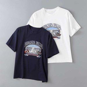 Estate nuovo colore solido girocollo in cotone Loose Women T-shirt, via dimagrimento cascata ricamati delle donne T-shirt a maniche corte