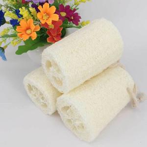 new household merchandises natural loofah bath body shower sponge scrubber pad hot sale
