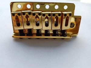 Chrome Gold Guitar bridge Single Vibrato Tremolo Elecric Guitar Bridge for Electric Guitar in stock
