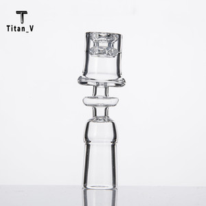 Diamond Knot Enail Quartz Electric Nails Frosted Joint 19.5mm Bowl For 20mm Coil Elegant Design Domeless Dab Rig 523