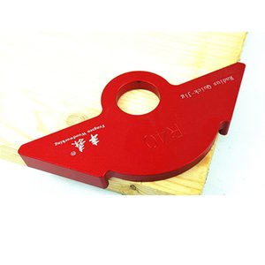 Aluminium Alloy Radius Quick-Jig Router Table Bit R20 30 40 Corner Jig Templates Trimming Machine R Angle Arc Template DIY Tools