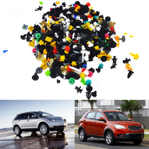 100 200pcs Car Styling Universal Auto Fastener Car Bumper Clip Mixed Vehicle Retainer Rivet Door Panel Fender Liner