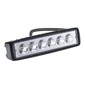 LED 전구 작업 조명 18W 6 구슬 단어 트렁크 자동차에 대 한 반사경 빛으로