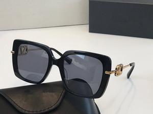 2041 marca popular Designer Óculos Cat Eye Moda Quadro Óculos de sol com diamantes e rebites Projeto Eyewear Vem com caso