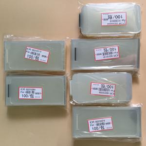 100pcs / lot Frente fábrica e voltar filme protetor de tela para o iPhone 5 5S 6 6S 7 8 Plus X XS MAX remodelação filme 11 novo telefone