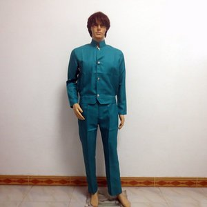 2019 New Japanese Men YuYu Hakusho Urameshi Yuusuke Christmas Party Halloween Uniform Outfit Cosplay Costume Customize