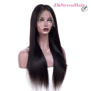 10A Brazilian Remy Hair Frontal Lace Wigs 100 Human Hair Silky Straight Lace Frontal Wigs Density 180%