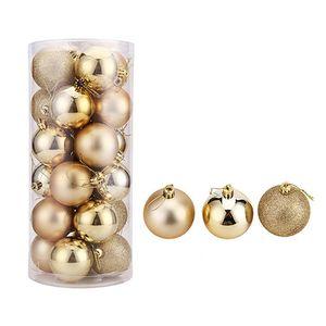80mm Weihnachtsbaum Ball Flitter Xmas Party Hochzeit Hängende Ornament Weihnachtsdekoration Liefert freies verschiffen