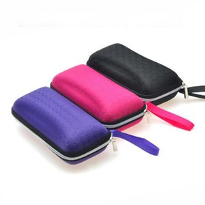 Eyewear Cases Cover Sunglasses Case For Women Glasses Box With Lanyard Zipper Eyeglass Cases Storage Boxes For Men