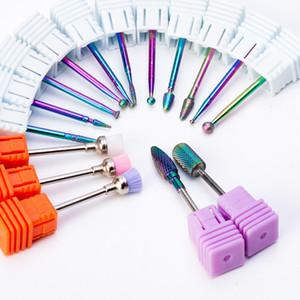 Nail Drill Bit Diamond Drill Cutter Rotate Burr Milling Cutter Electric Nail Drill Manicure Pedicure Tools