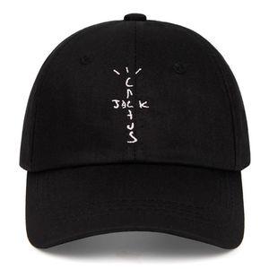 Lüks tasarımcı% 100 pamuk kaktüs jakı beyzbol Şapkalarımızda Travis Scott unisex Astroworld baba şapka işlemeli kap adam kadın yaz şapka