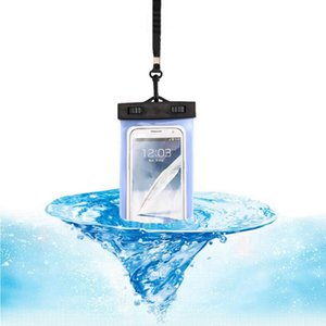 Essencial rodada pasta Seal Waterproof Bag Mobile Phone Bag / Natação Rafting Esportes Aquáticos